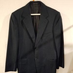 EUC Canali navy blue blazer 38R